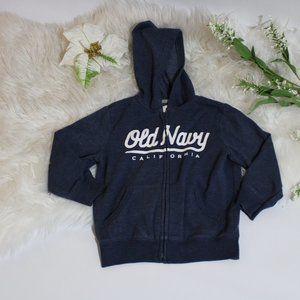 Old Navy- Navy Blue Hoodie Sweater Long Sleeve